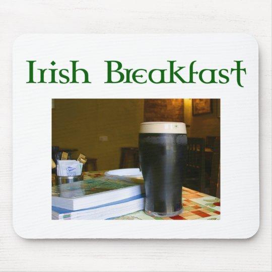 Funny Irish Breakfast Irish Beer lovers gear Mouse Pad
