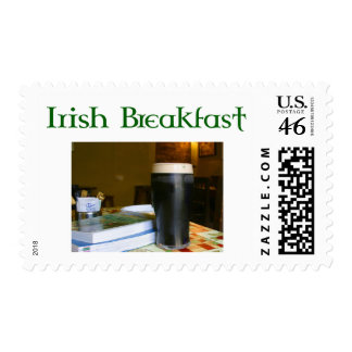 Funny Irish Breakfast Irish Beer lovers gear Stamp