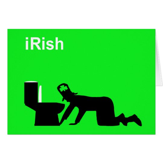 Funny Irish Card