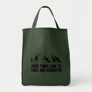 Funny Irish drinking Grocery Tote Bag