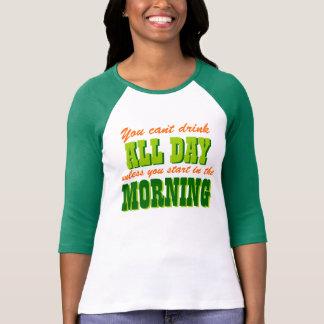 Funny Irish Drinking Humor Tee Shirt