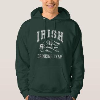 Funny! Irish Drinking Team Hoodie