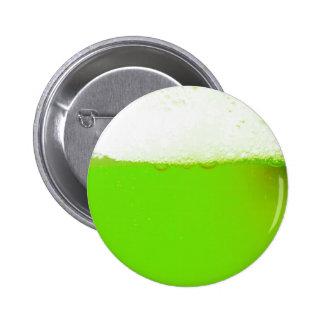 Funny Irish Green Beer Button