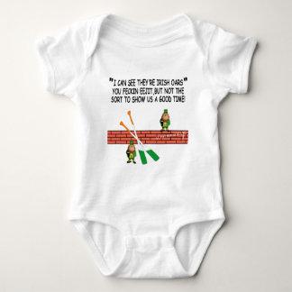 Funny Irish leprechauns Baby Bodysuit