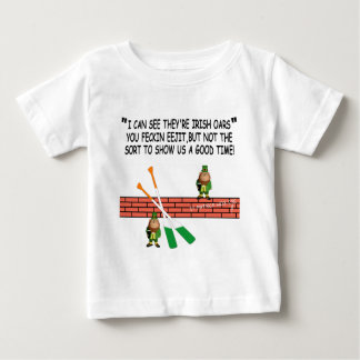 Funny Irish leprechauns Baby T-Shirt