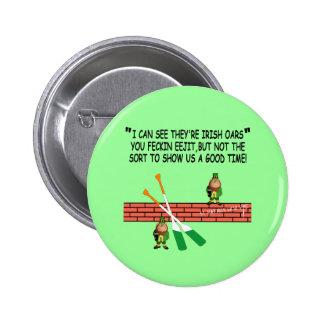 Funny Irish leprechauns Pins