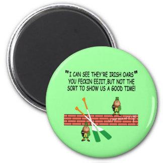 Funny Irish leprechauns Magnets