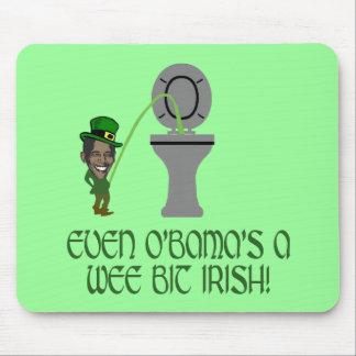 Funny Irish Obama Mouse Pad
