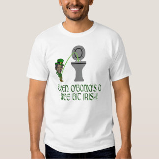 Funny Irish Obama Tee Shirt