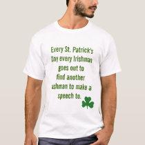 Funny irish saying Saint PATRICK's dAY T-Shirt
