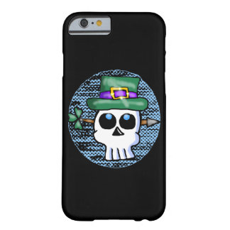 Funny Irish Skull Cartoon Barely There iPhone 6 Case