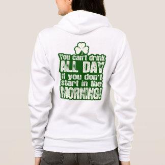 Funny Irish St Patrick's Day Hoodie
