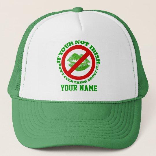 Funny Irish, St Patrick's day Trucker Hat