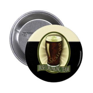 Funny Irish Stout Button