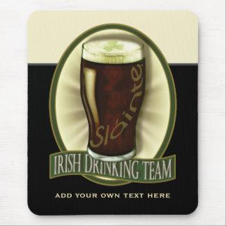 Funny Irish Stout Personalized Mouse Pad