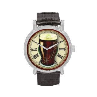 Funny Irish Stout Wristwatch