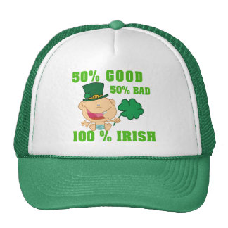 Funny Irish Trucker Hat