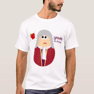 Funny Isaac Newton Girls Tshirt