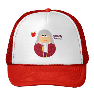 Funny Isaac Newton Hat