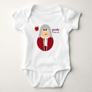Funny Isaac Newton Infant Shirt