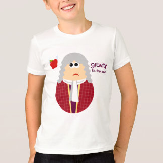 Funny Isaac Newton Kids T-shirt