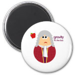 Funny Isaac Newton Magnet