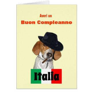 italian language birthday greeting cards  zazzle, Birthday card