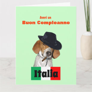 Italian Birthday Cards Greeting Photo Cards Zazzle