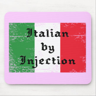 Funny Italian by Injection Mousepad