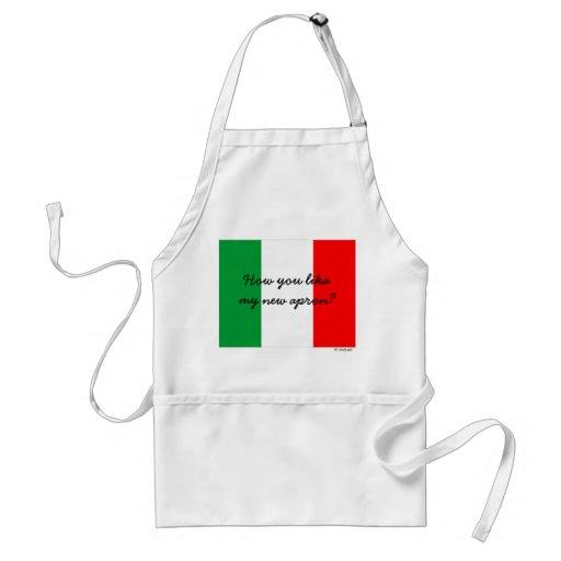 Funny Italian Chef Apron