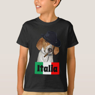 Funny Italian Mobster Charley Dog T-Shirt