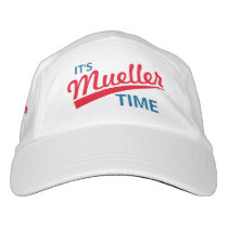 "Funny ""It's Mueller Time"" Headsweats Hat"