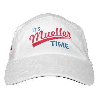 """Funny """"It's Mueller Time"""" Headsweats Hat"""