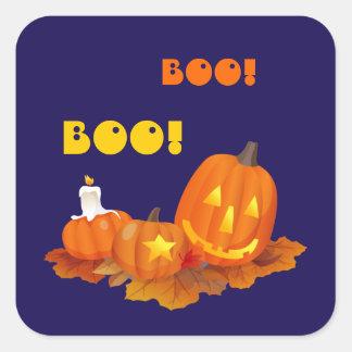 Funny Jack O'Lanterns Halloween Stickers