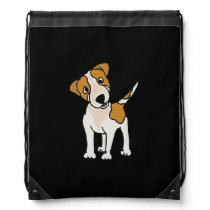Funny Jack Russell Terrier Backpack