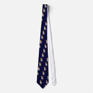 Funny Jack Russell Terrier Puppy Dog Neck Tie