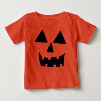 Funny Jackolantern Face Baby T-Shirt