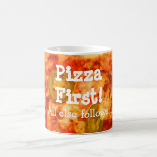 Funny Jalapeno Pizza Custom Humor Coffee Mug