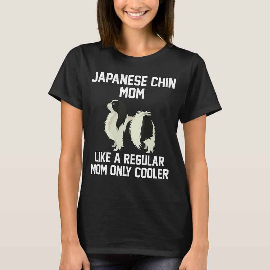Funny Japanese Chin Mom T-Shirt - Best Selling Long-Sleeve Street Fashion Shirt Designs