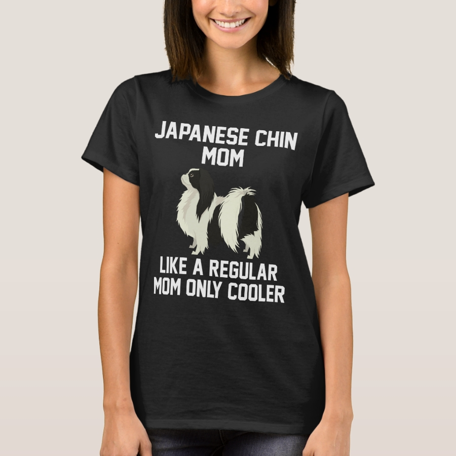 Funny Japanese Chin Mom T-Shirt - Best Selling Long-Sleeve Street Fashion Shirt Designs