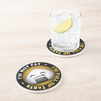 Funny japanese riceball beverage coasters