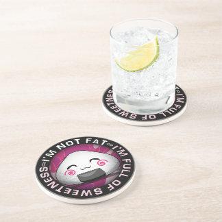 Funny japanese riceball coaster