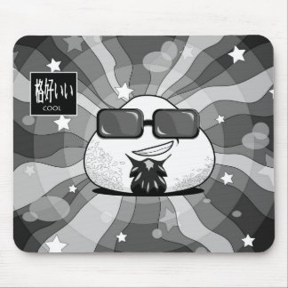 Funny Japanese Riceball Mouse Pad