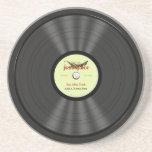 Funny Jazz Vinyl Record Coaster