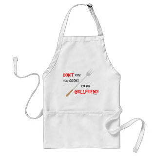 Funny Jealous Girlfriend BBQ Apron