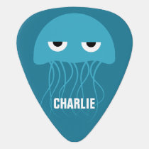 Funny Jellyfish custom guitar picks