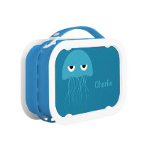 Funny Jellyfish custom lunch box