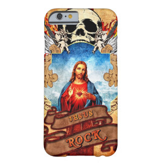 Funny Jesus rock Barely There iPhone 6 Case