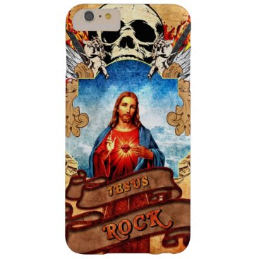 Funny Jesus rock Barely There iPhone 6 Plus Case