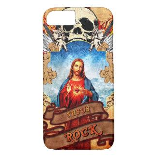 Funny Jesus rock iPhone 8/7 Case